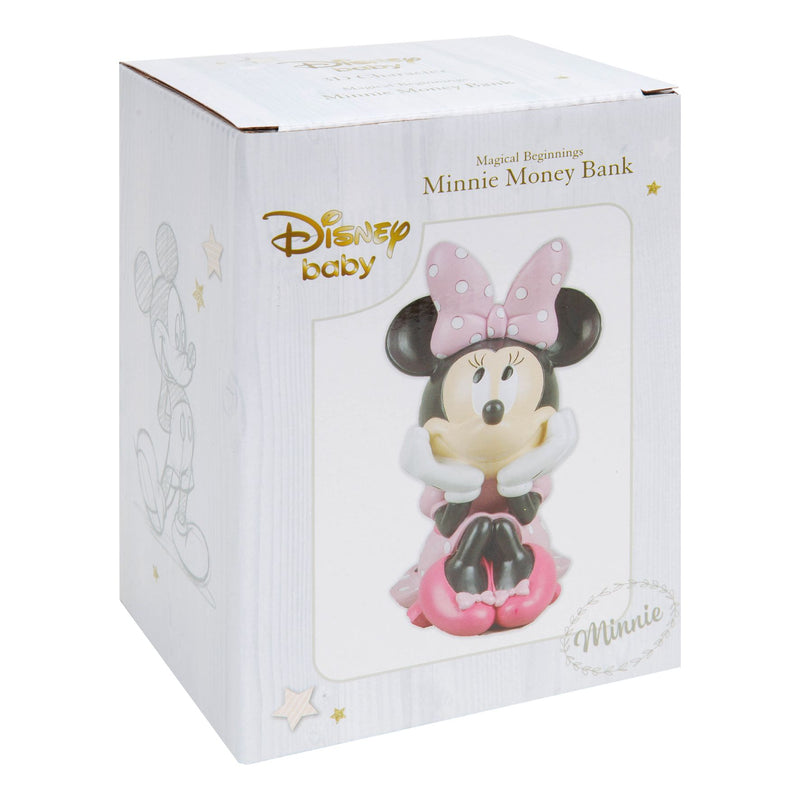 Disney Magical Beginnings Money Bank - Minnie