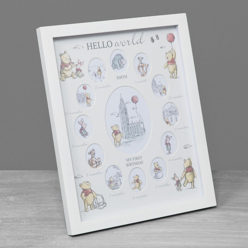 Disney Christopher Robin First Year Multi-Aperture Frame