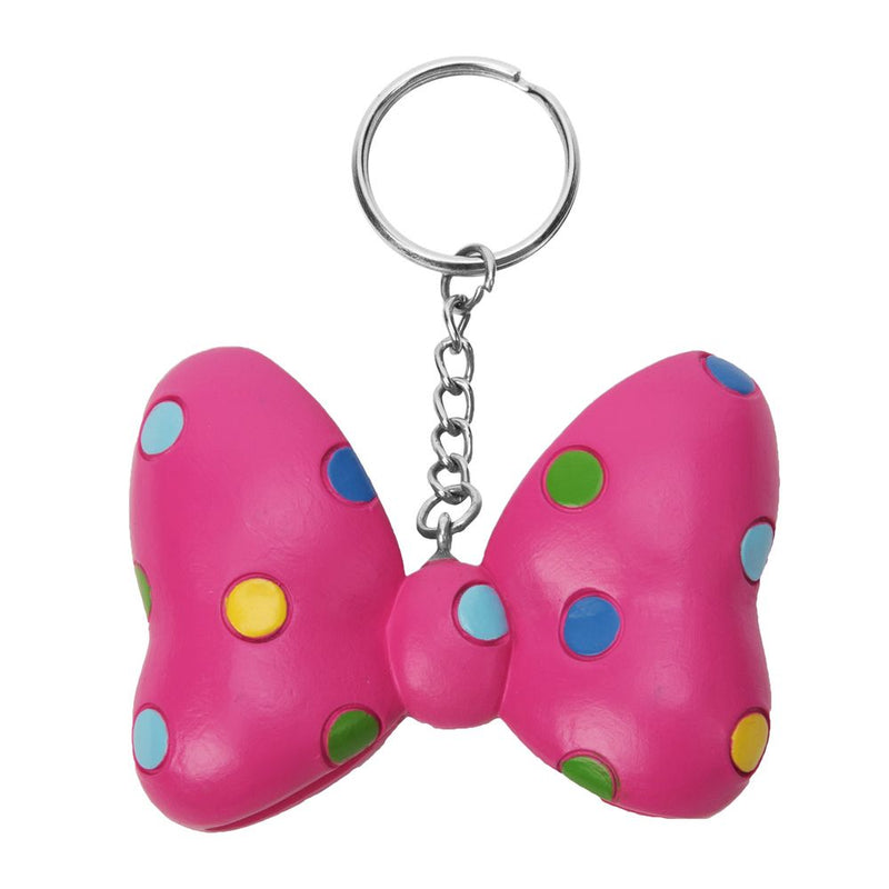 Disney Minnie Mouse 3D Bow Resin Keyring