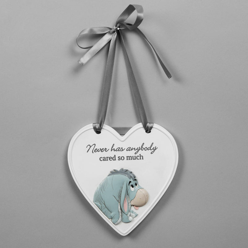Disney Christopher Robin Relief Heart Eeyore Plaque