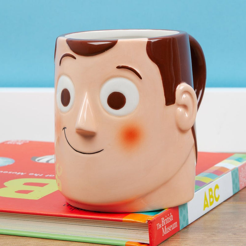 Disney Toy Story 4 Woody Ceramic 3D Mug