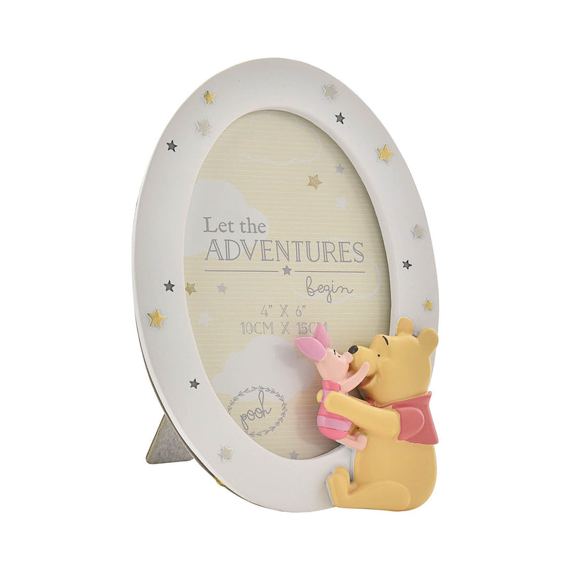 Disney Magical Beginnings Photo Frame Pooh & Piglet