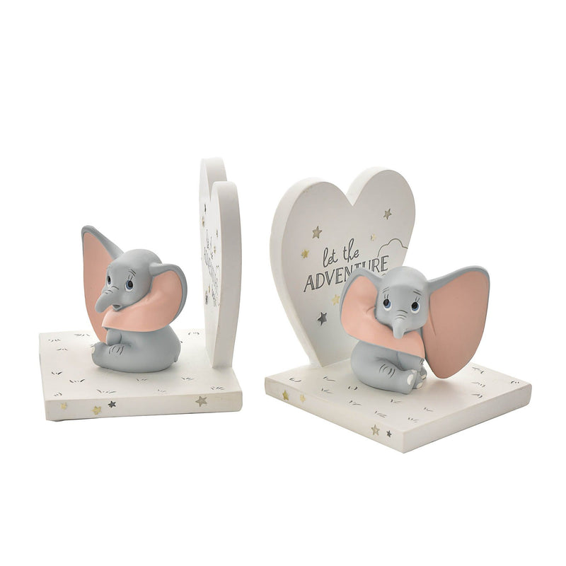 Disney Magical Beginnings Moulded Bookends - Dumbo