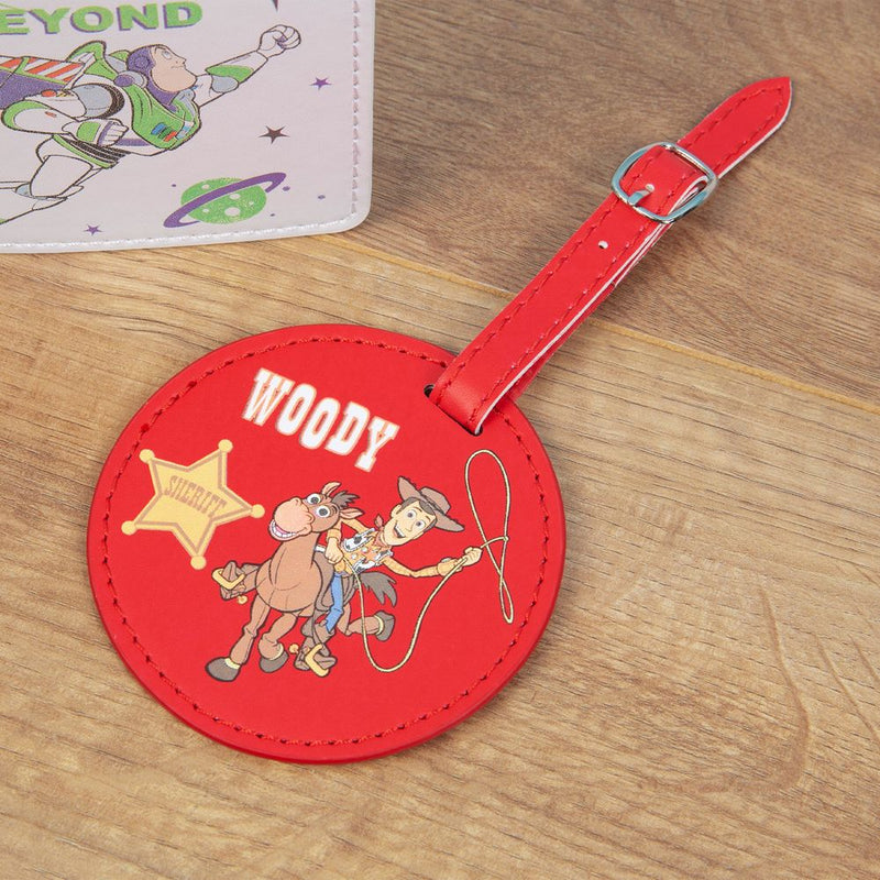 Diney Pixar Toy Story 4 Luggage Tag & Passport Cover