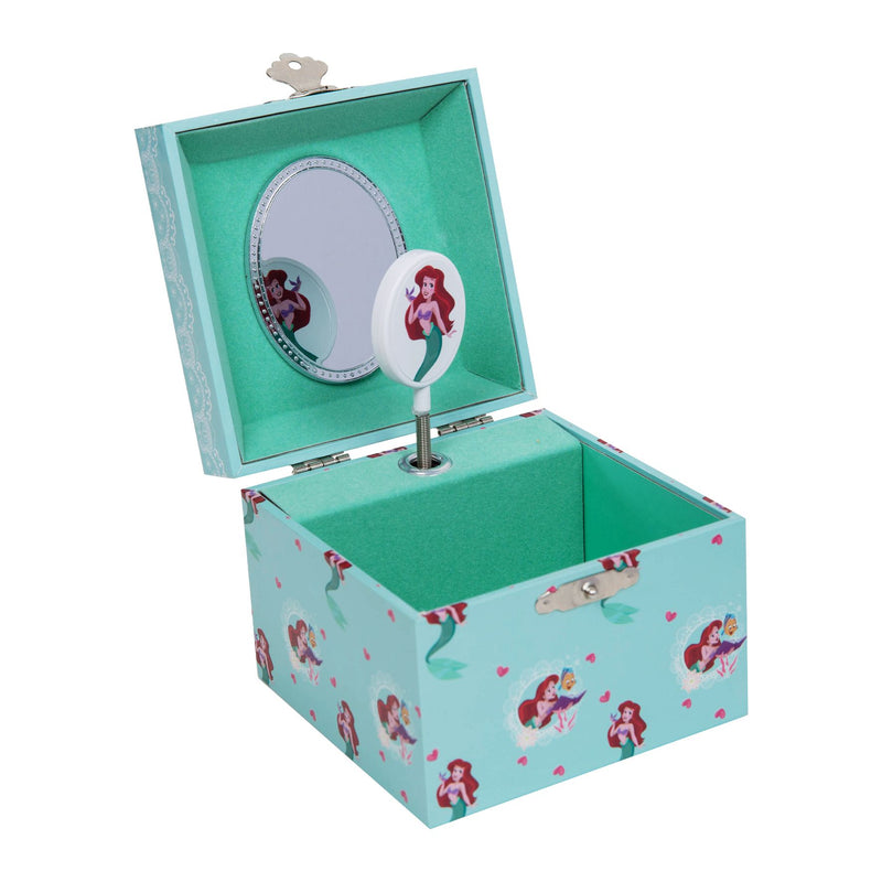 Disney Pastel Princess Musical Jewellery Box - Ariel