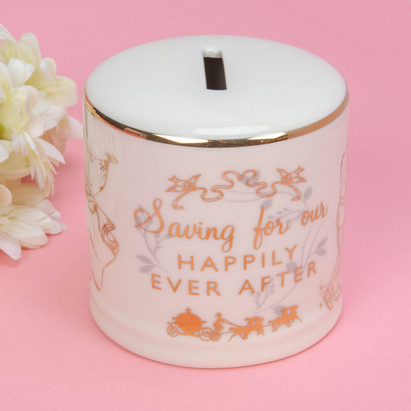 Disney Happily Ever After Ceramic Money Bank