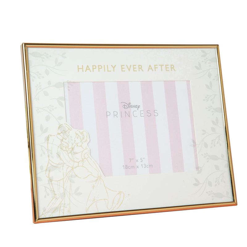 "7"" x 5"" Disney Happily Ever After Wedding Frame - Cinderella"