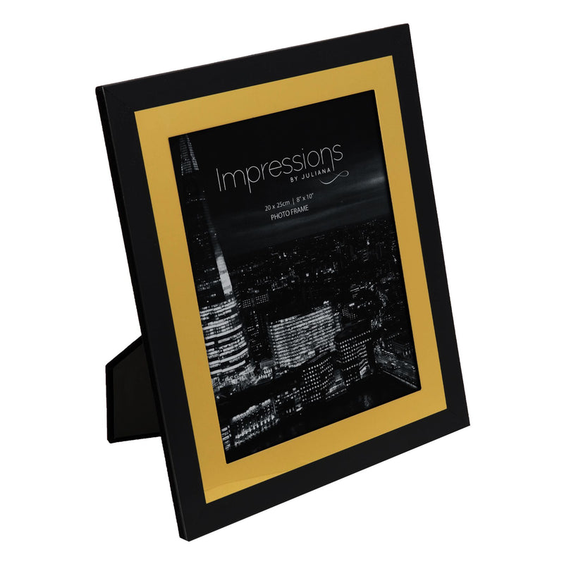 "8"" x 10"" - Impressions Aluminium Photo Frame - Black"
