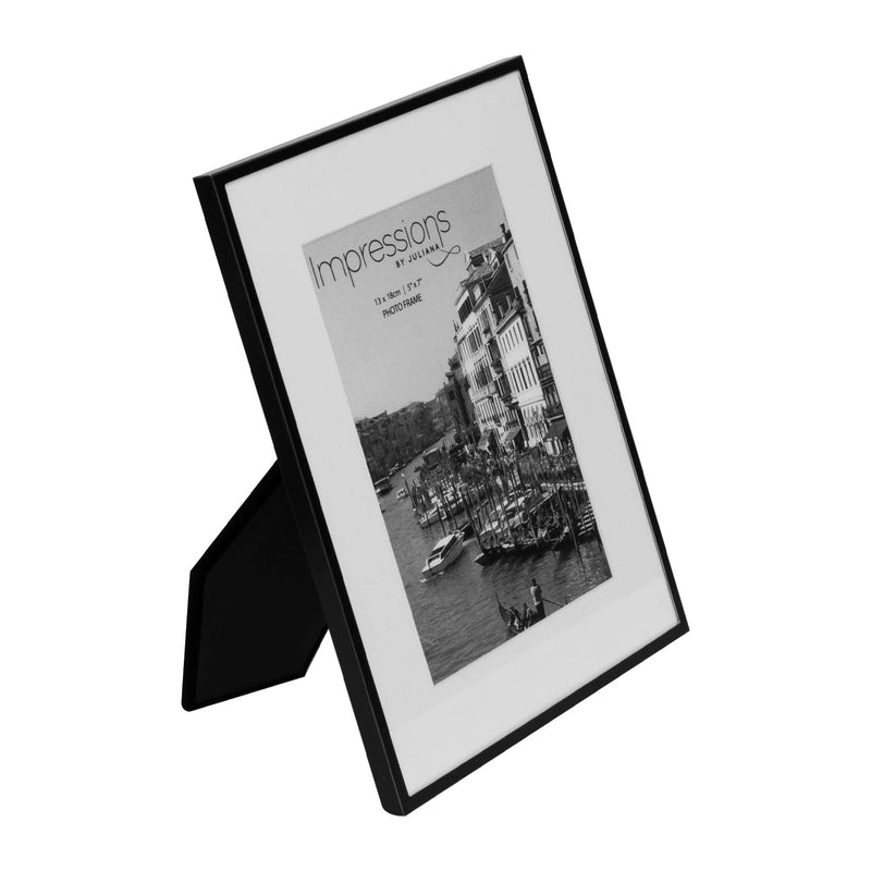 "5"" x 7"" - Matt Black Metal Photo Frame"