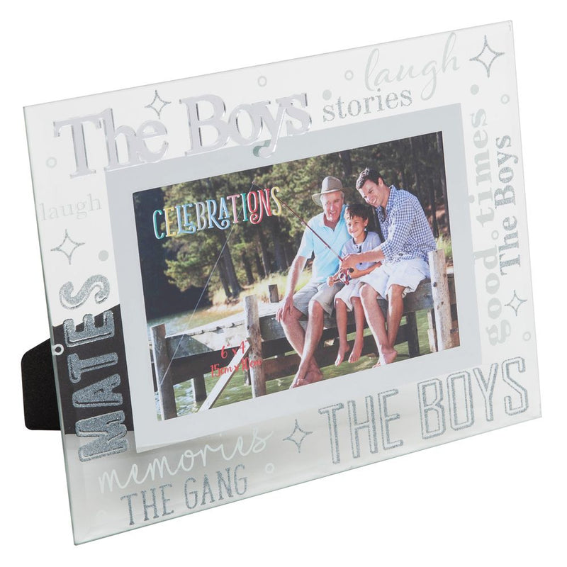 "6"" x 4"" - CELEBRATIONS® Friends & Family Frame - THE BOYS"