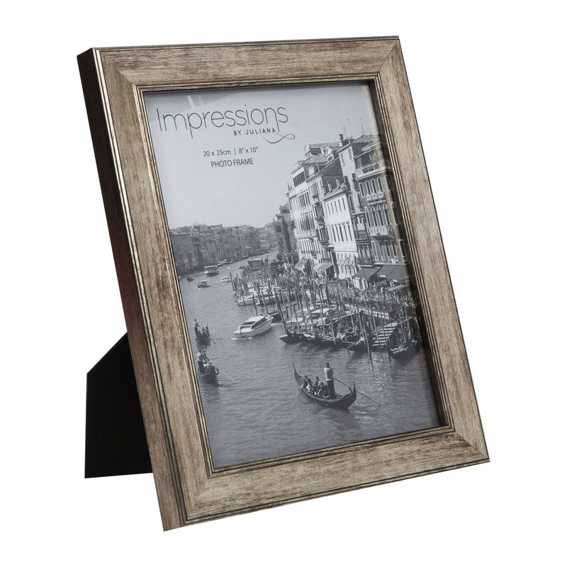 "8"" x 10"" - Impressions Tarnished Pewter Look Photo Frame"