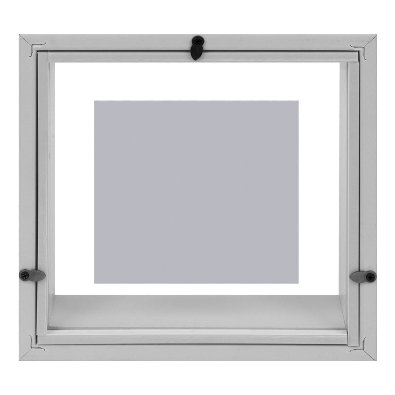 "4"" x 4"" - iFrame Box Photo Frame White Colour"
