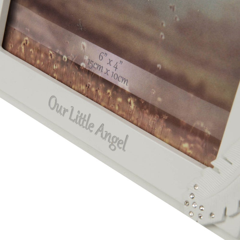 "4"" x 6"" - Thoughts of You Frame with Crystals - Our Angel"