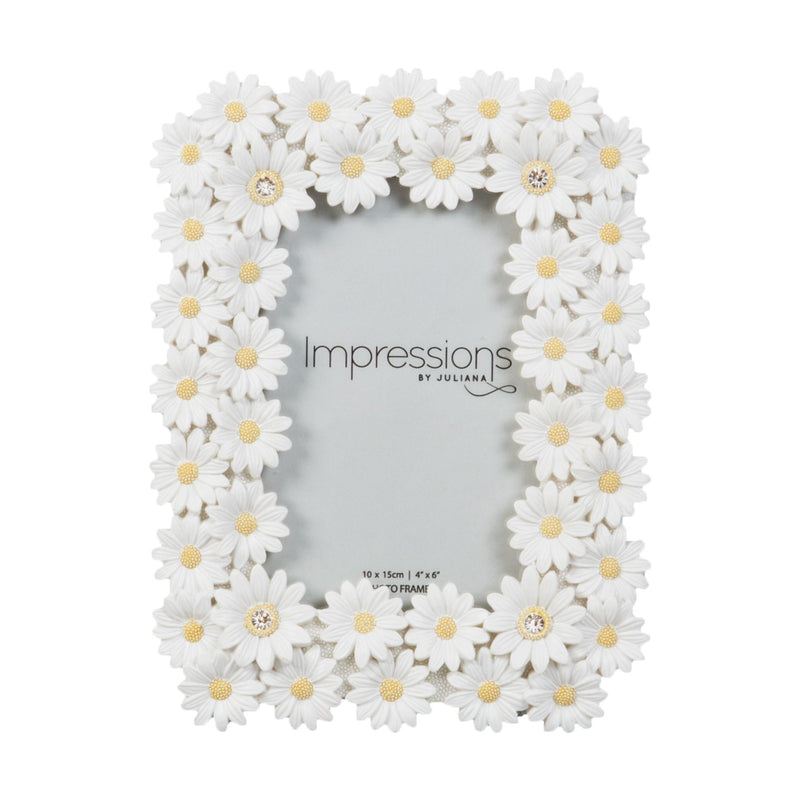 "4"" x 6"" - Impressions Floral Daisy Photo Frame"