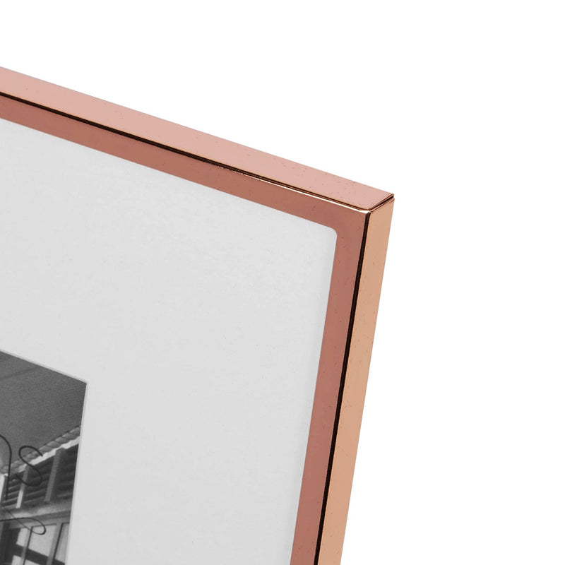 "4"" x 6"" - Impressions Copper Plated Narrow Edged Frame"