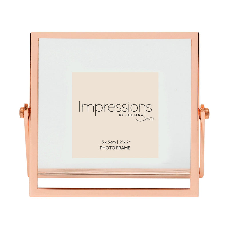 "2"" x 2"" - Impressions Copper Finish Floating Frame"