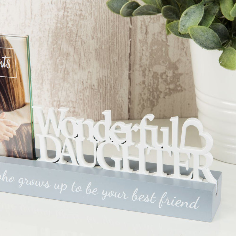 "4"" x 4"" - Celebrations Photo Frame - Wonderful Daughter"