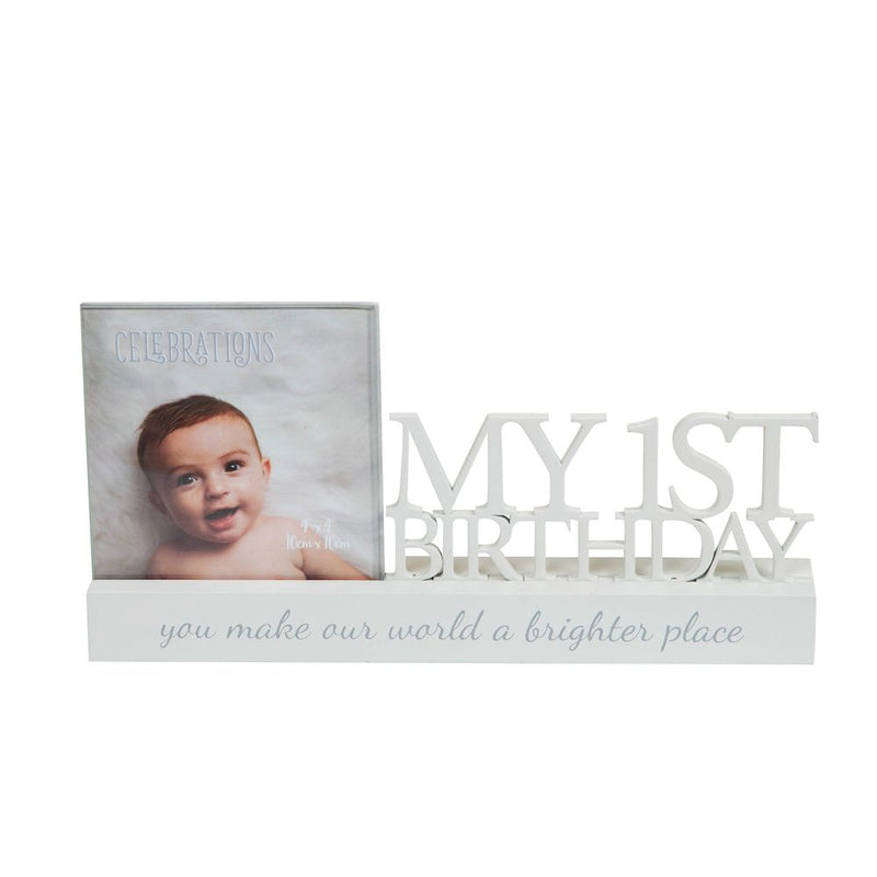 "4"" x 4"" - Celebrations Photo Frame - My 1st Birthday"