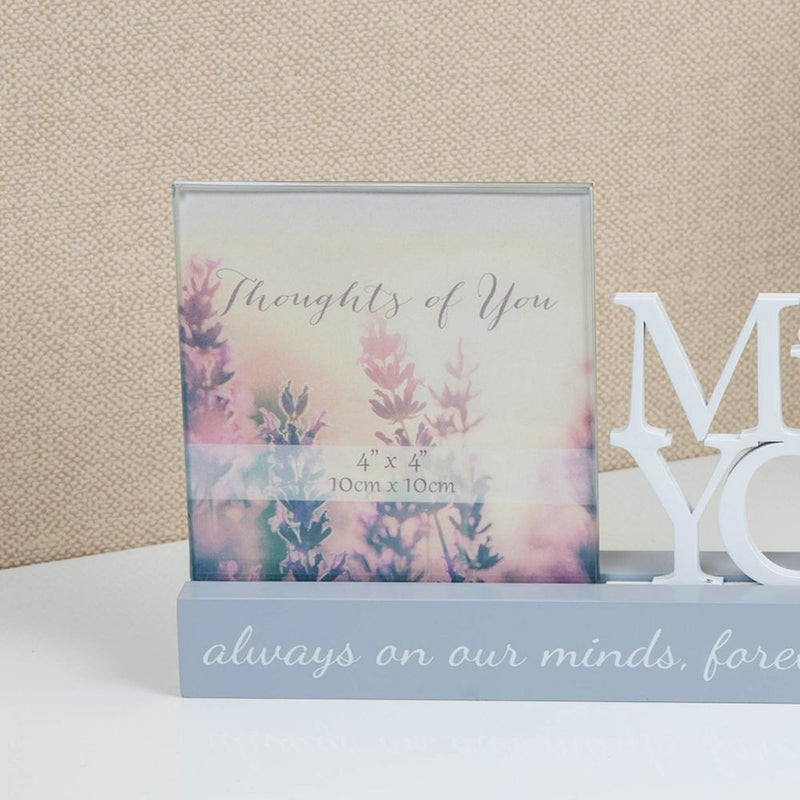 "4"" x 4"" - Celebrations Photo Frame - Missing You"