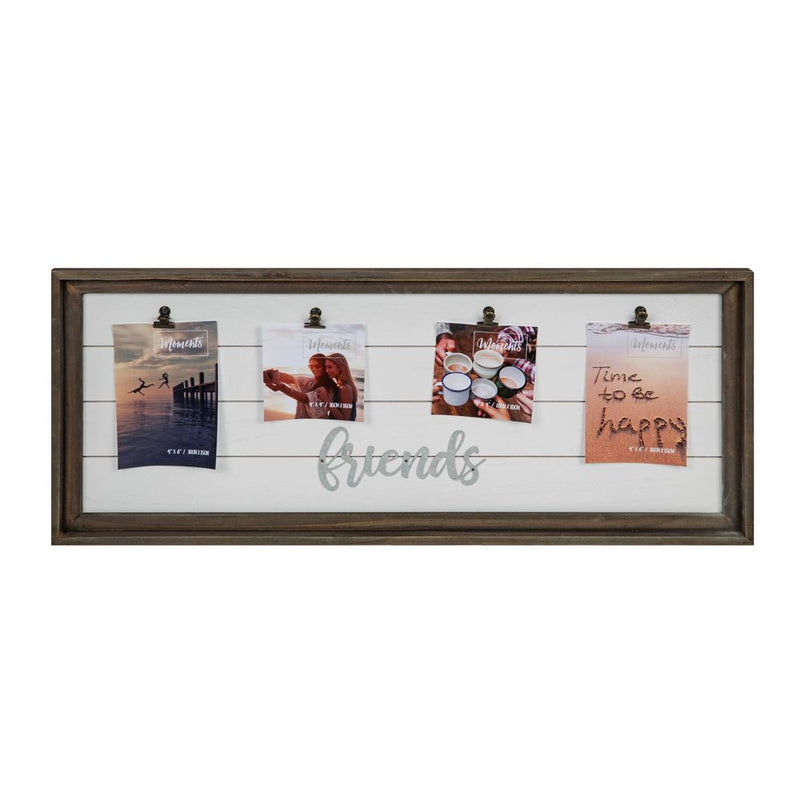 "'Moments' Multi Aperture Clip Frame 4"" x 6"" Friends"