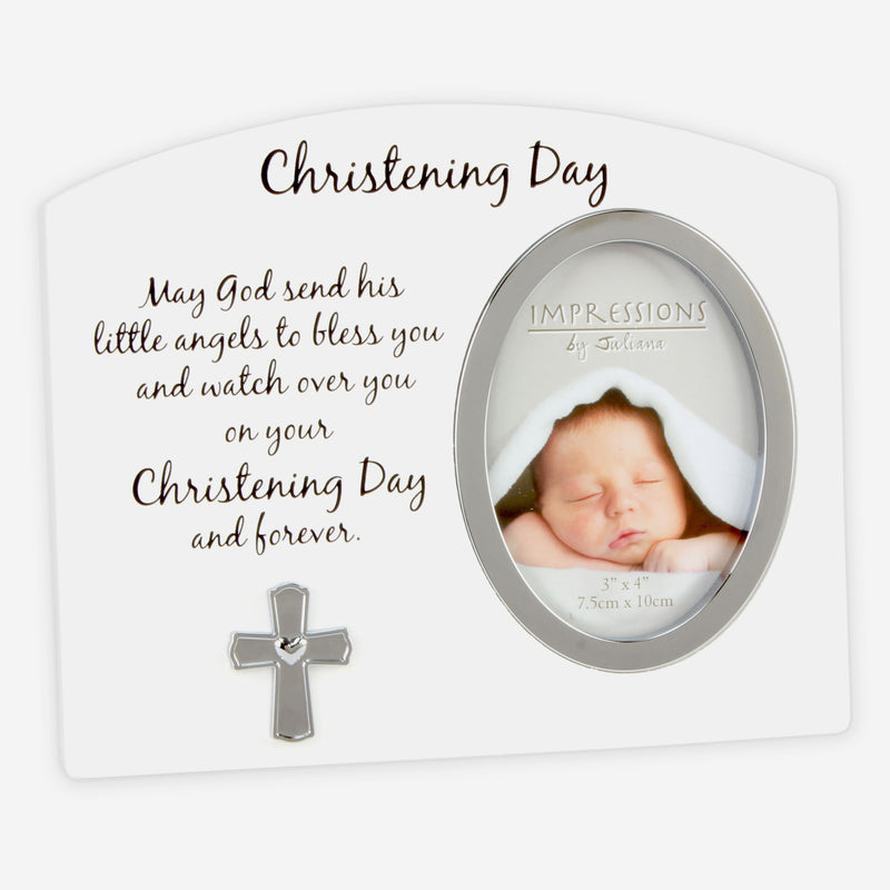 "3"" x 4"" - Celebrations Christening Day Photo Frame"