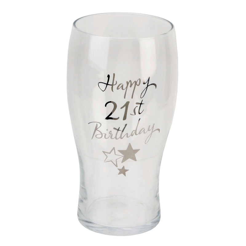 Birthdays by Juliana Beer Glass - 21st Birthday