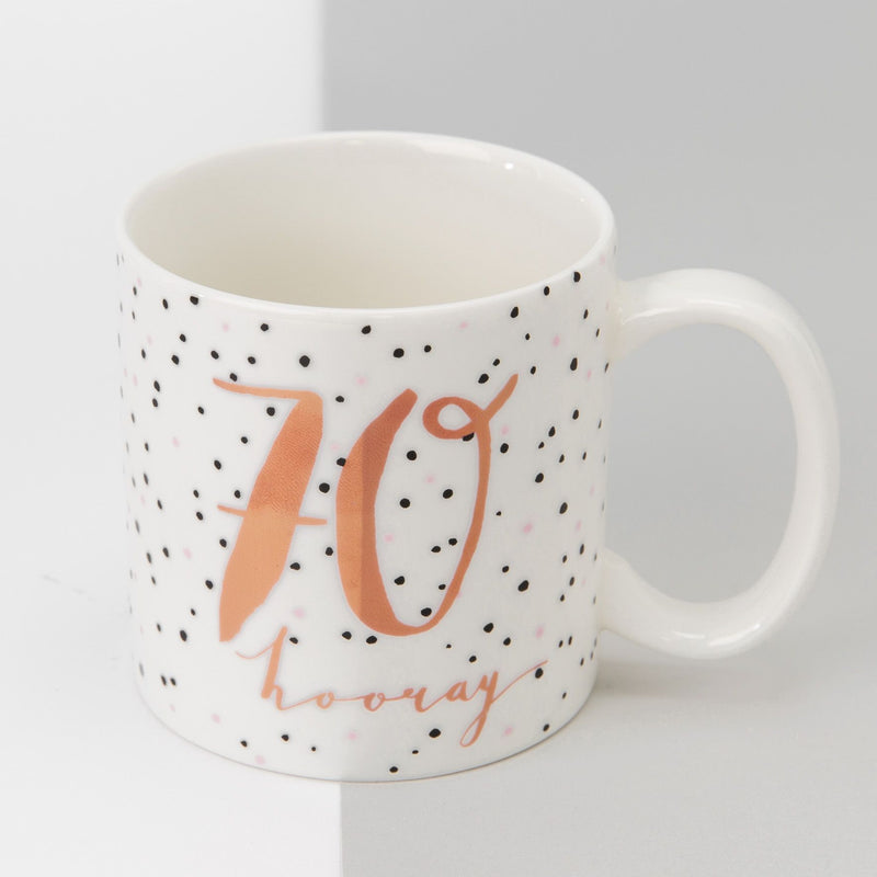 Luxe Ceramic Female Birthday Mug - 70