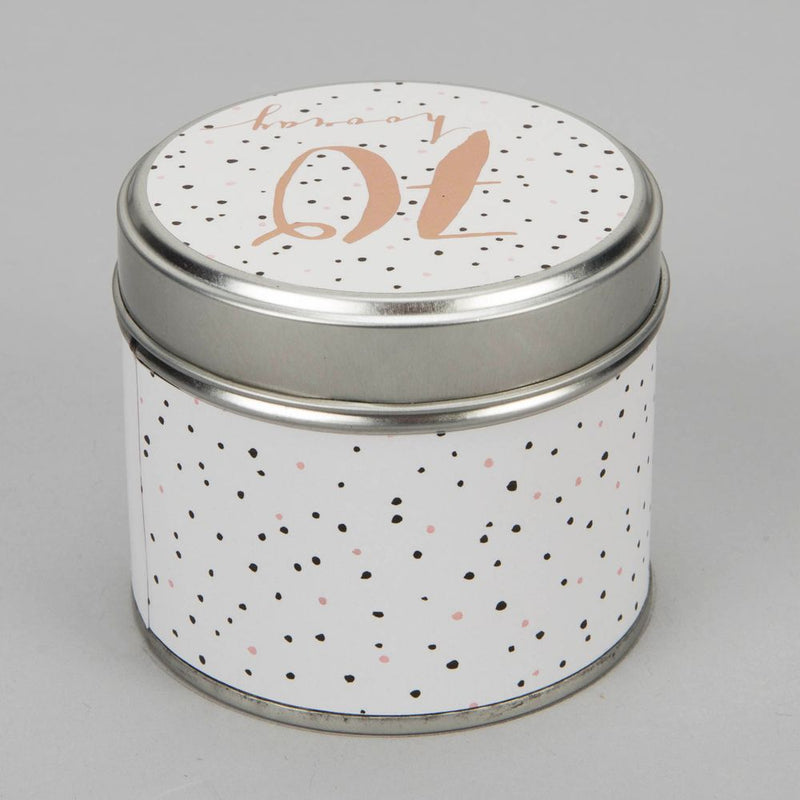 Luxe Candle in a Tin - 70th Birthday