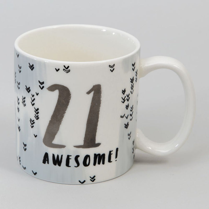 Luxe Ceramic Male Birthday Mug - 21