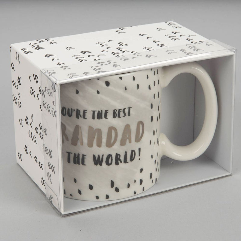 Luxe Ceramic Mug - Best Grandad in The World