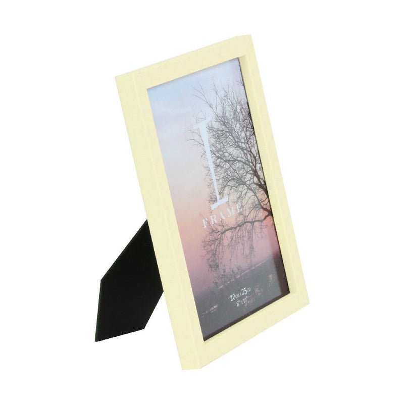 "8"" x 10"" - iFrame Plastic Yellow Photo Frame"