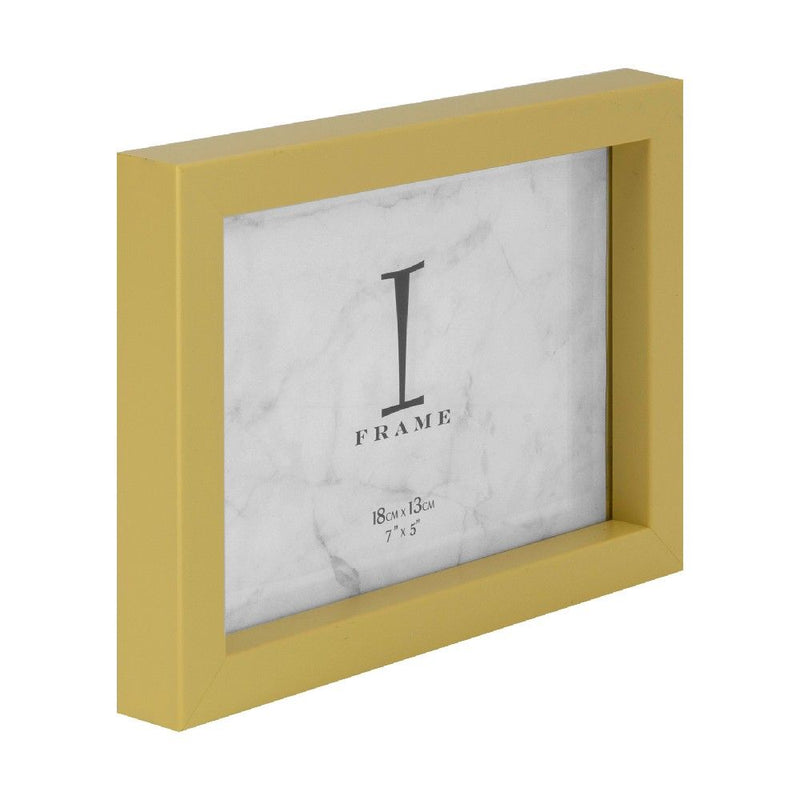 "7"" x 5"" - iFrame Yellow Photo Frame"