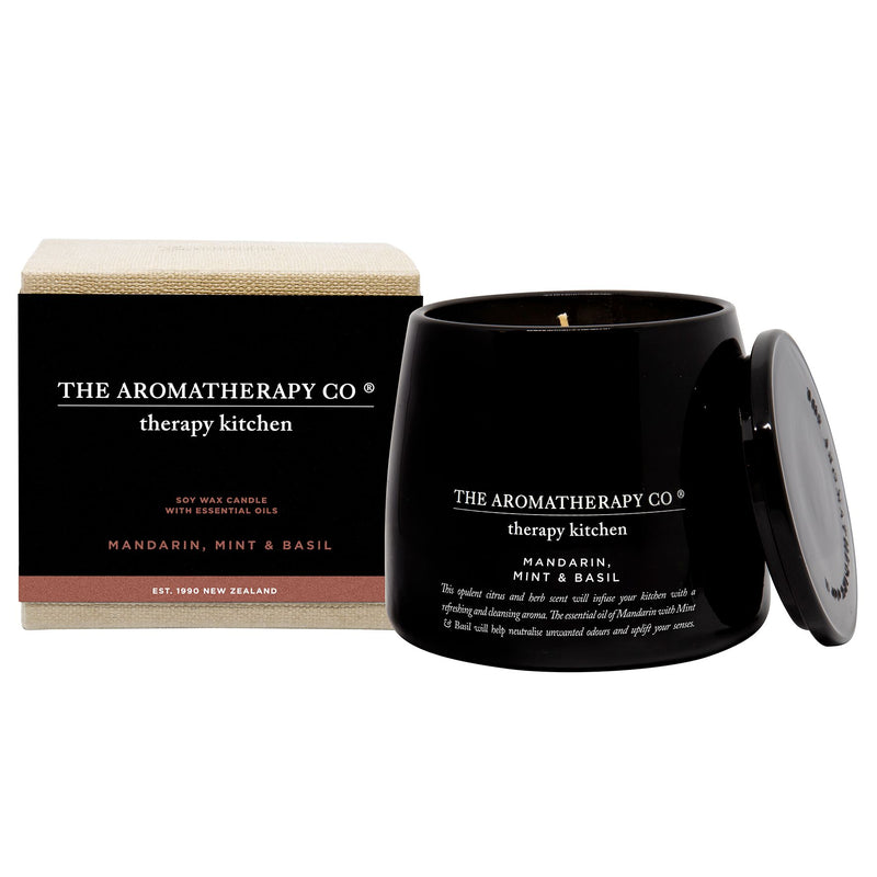 260g Therapy Kitchen Candle - Madarin, Mint & Basil
