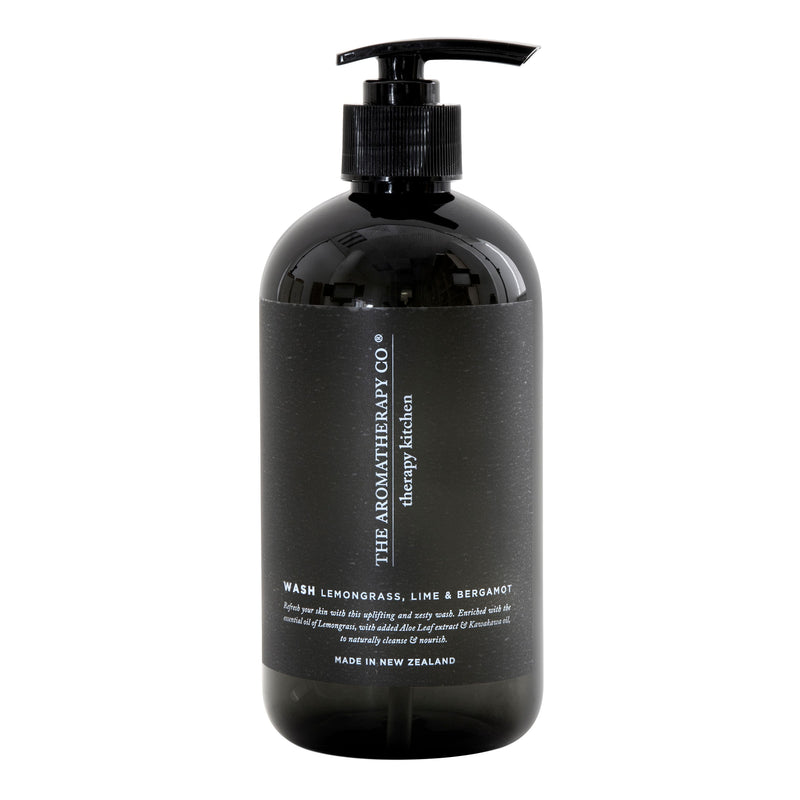 Therapy Kitchen Hand Wash 500ml- Lemongrass, Lime & Bergamot