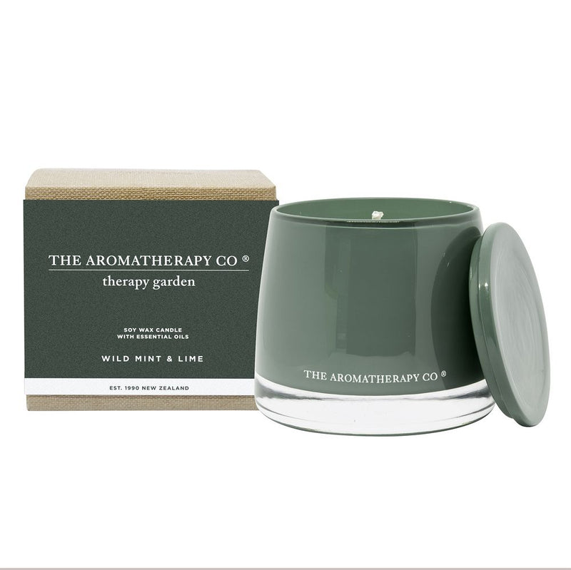 Therapy Garden 260g Candle - Wild Mint & Lime