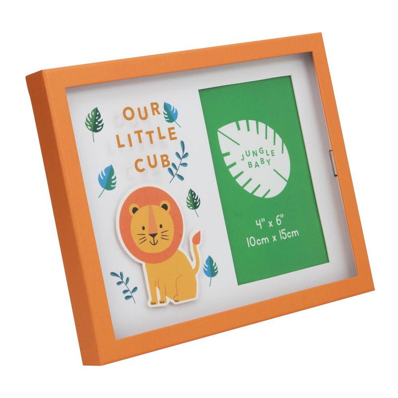 "4"" x 6"" - Jungle Baby London the Lion Frame - Our Little Cub"