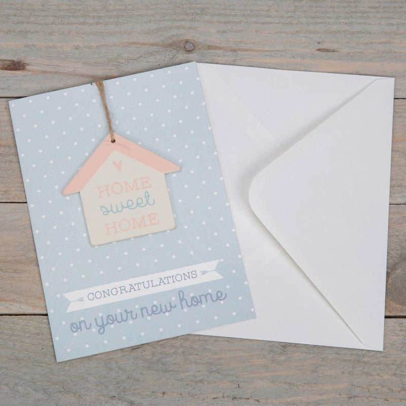 Greeting Card & House Plaque - Home Sweet Home