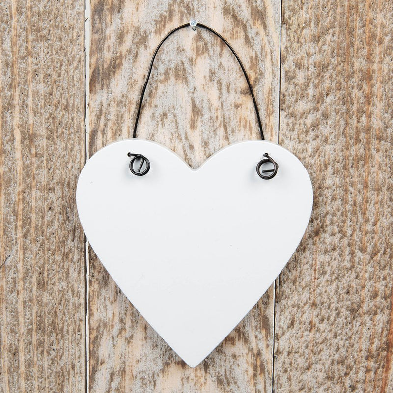 Love Life Mini Heart Plaque - Sister