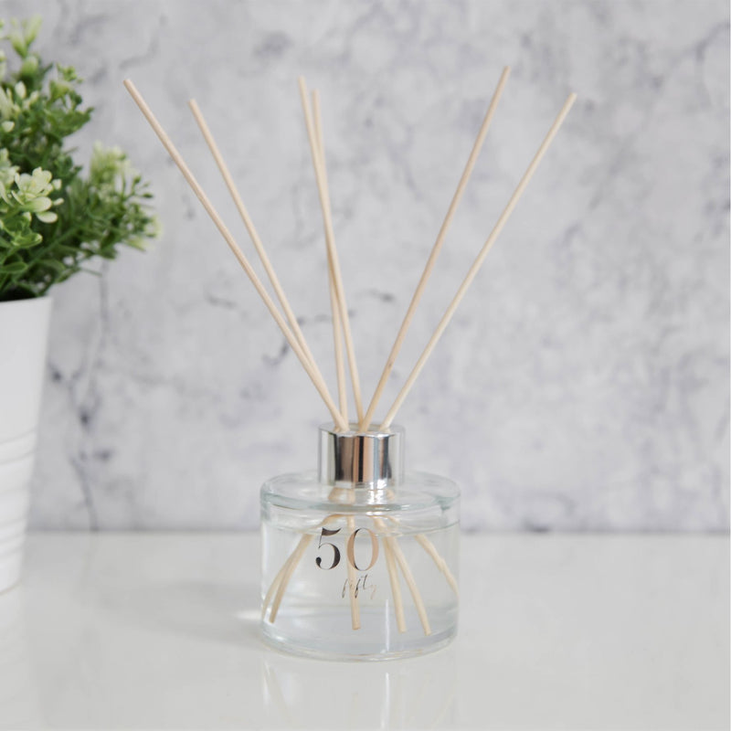 Milestones 100ml Peach Bellini Scented Reed Diffuser - 50