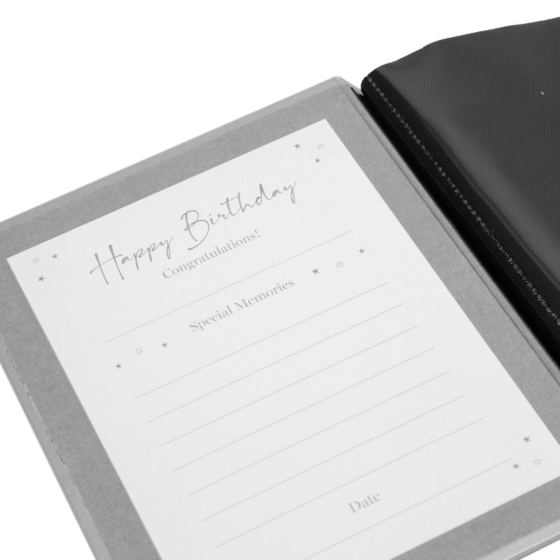 "5"" x 7"" - Milestones Birthday Photo Album - 50"