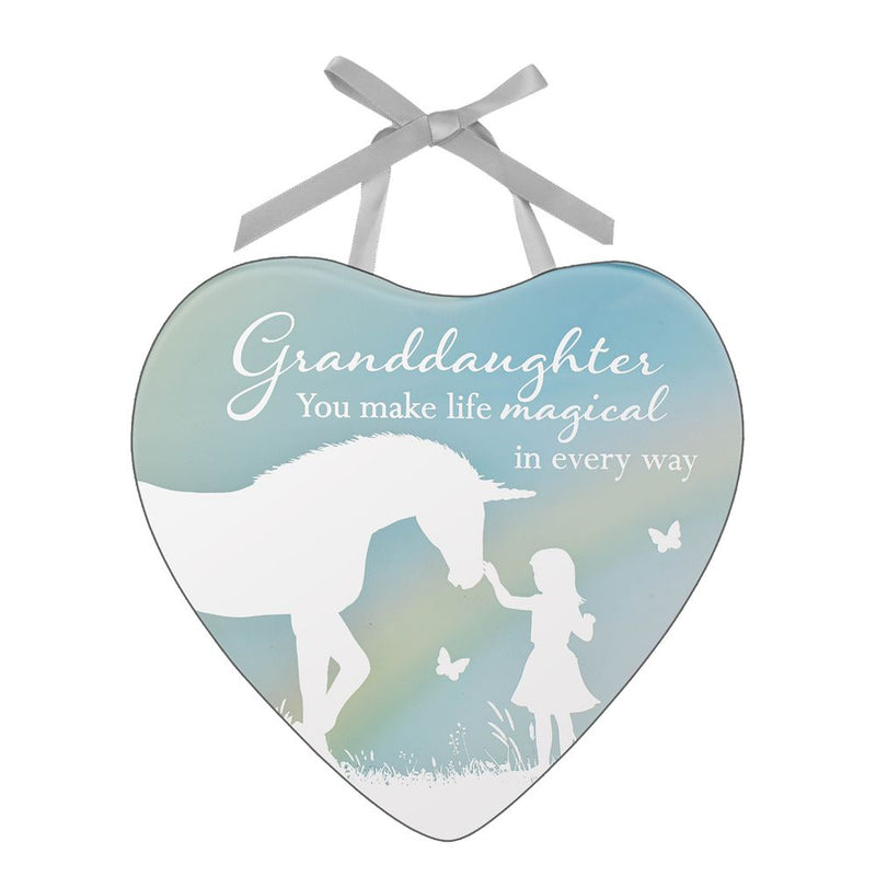 Reflections of The Heart Plaque - Granddaughter
