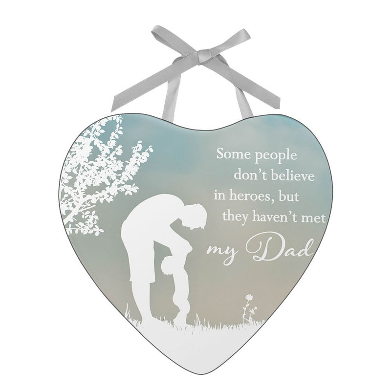 Reflections of The Heart Plaque - Dad