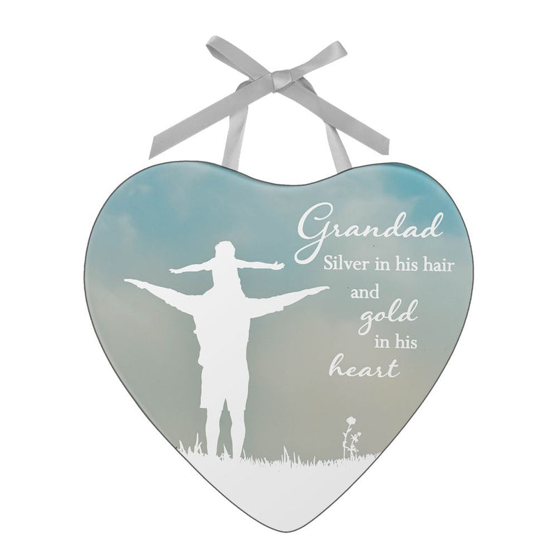 Reflections of The Heart Plaque - Grandad