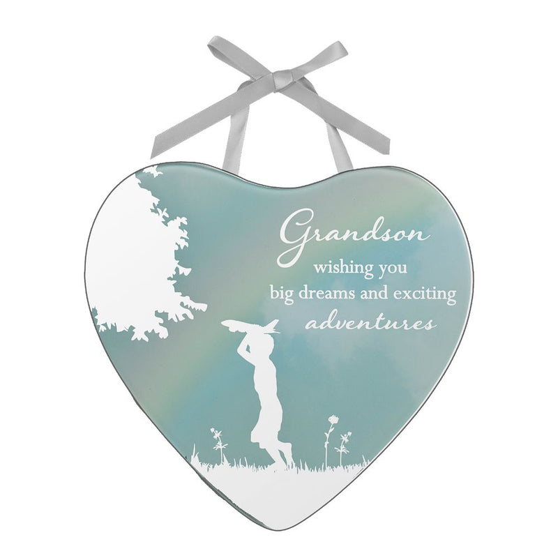Reflections of The Heart Plaque - Grandson