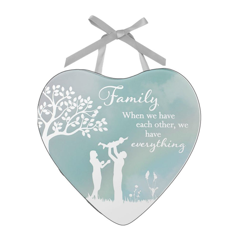 Reflections of The Heart Plaque - Family