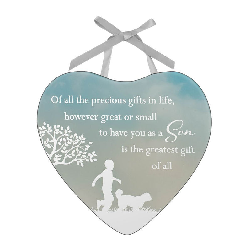 Reflections of The Heart Plaque - Son