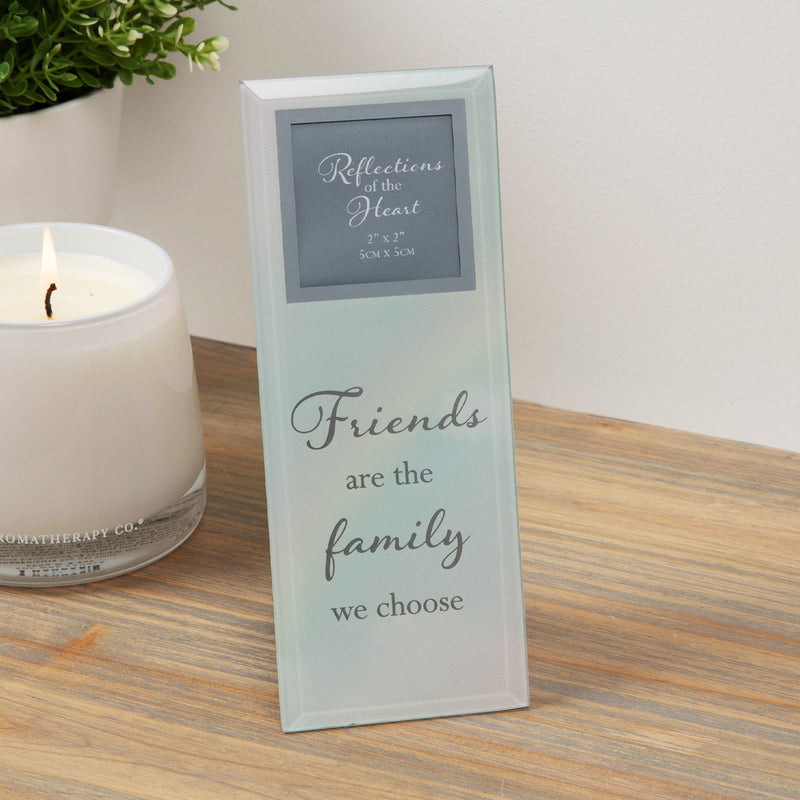 "2"" x 2"" - Reflections Of The Heart Photo Frame - Friends"
