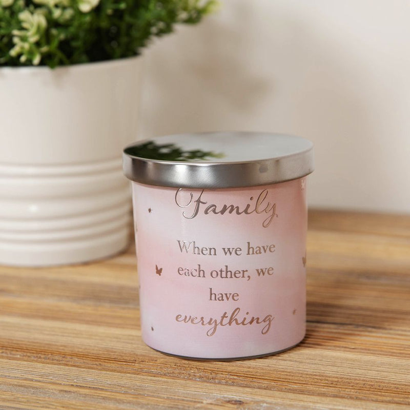Reflections Scented Tin Candle - Family