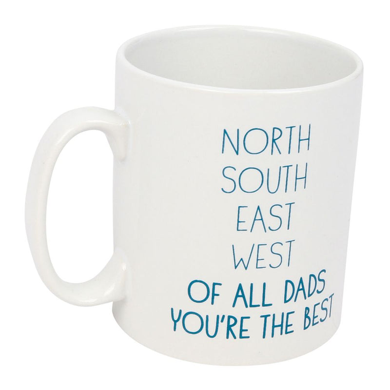 North East South West of All of The Dads You're The Best