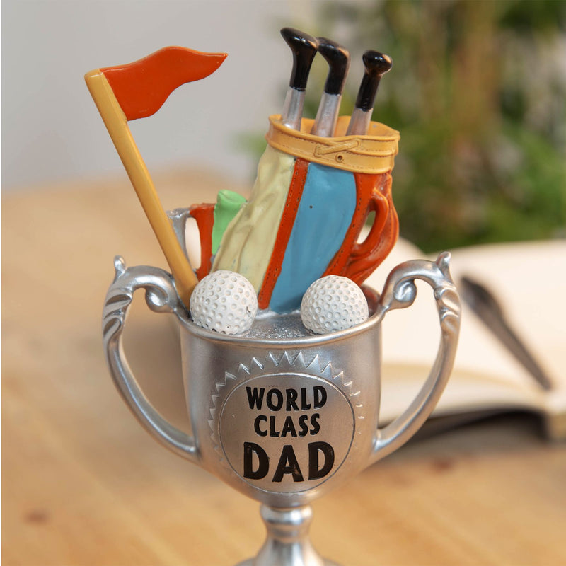World Class Dad Proof Is In The Putting Trophy